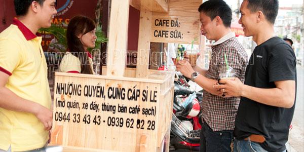 Cafe sạch lưu động