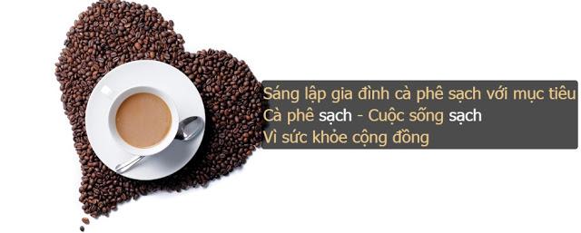 Nguyen Chat Coffee tặng máy xay cafe cho khách hàng tham gia vào đại lý gia đình cà phê sạch