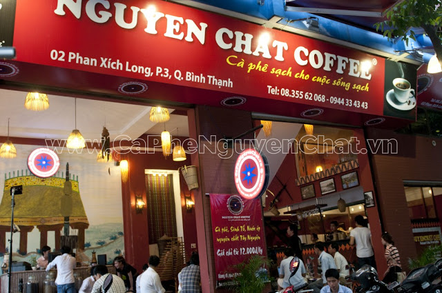 Bảng hiệu Cafe rang xay đẹp tặng miễn phí tới chủ quán