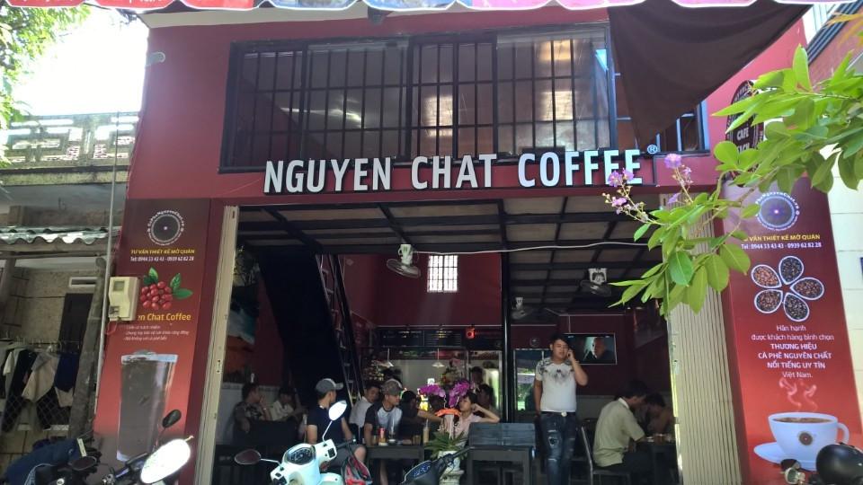 Chuỗi quán kinh doanh cafe Nguyen Chat Coffee