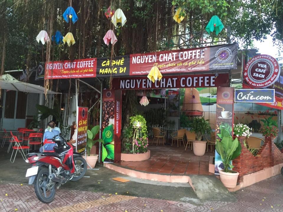 Quán cafe kinh doanh nhượng quyền