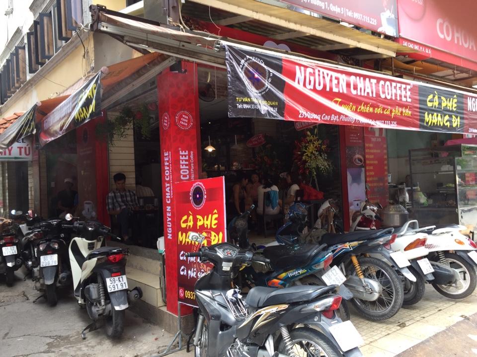 Mở quán cafe rang xay đông khách