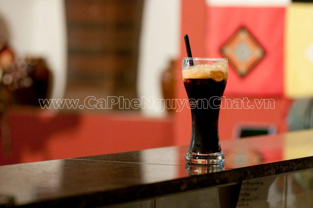 Ly cafe đen nguyên chất thơm ngon