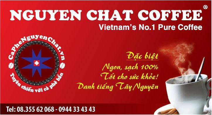 Nguyen Chat Coffee - Cơ hội nhượng quyền quán cafe uy tín. chất lượng . Vua cà phê sạch trên thị trường cafe Việt.