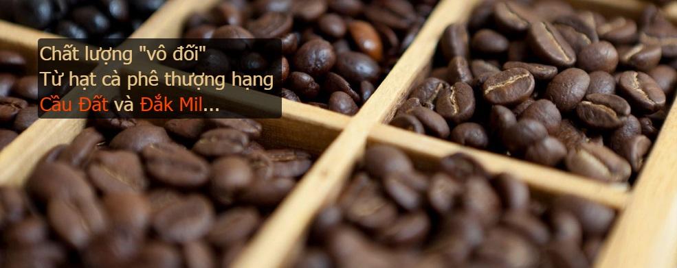 Cafe hạt rang nguyên chất
