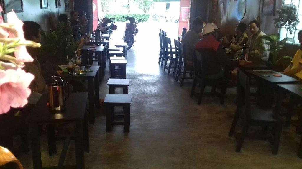 Thiết kế quán cafe bình dân đẹp mắt hút khách