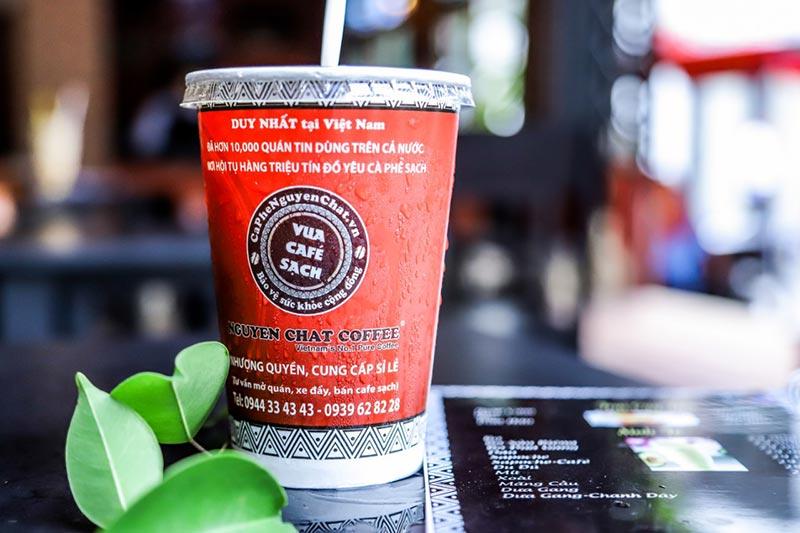 Giá trị thương hiệu cà phê ngon sạch - Nguyen Chat Coffee