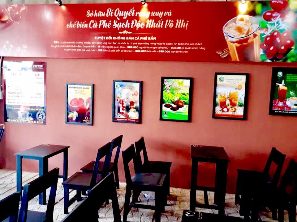 Mở quán kinh doanh cafe sạch