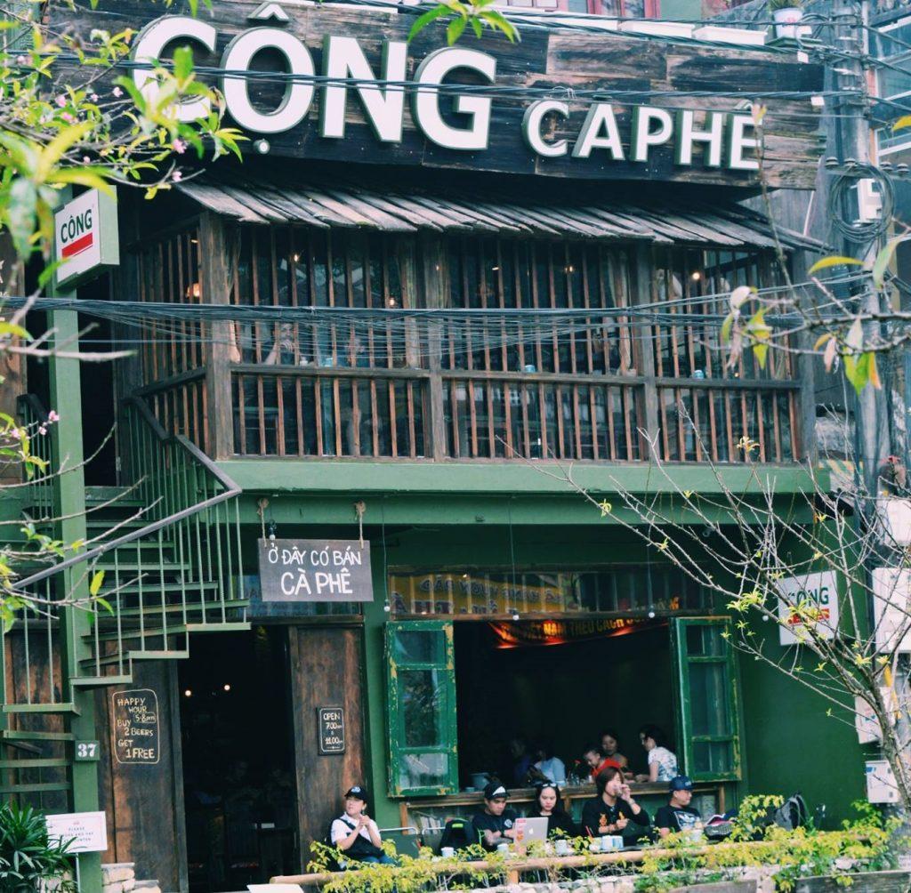 Nét đặc trưng của các quán cafe Cộng