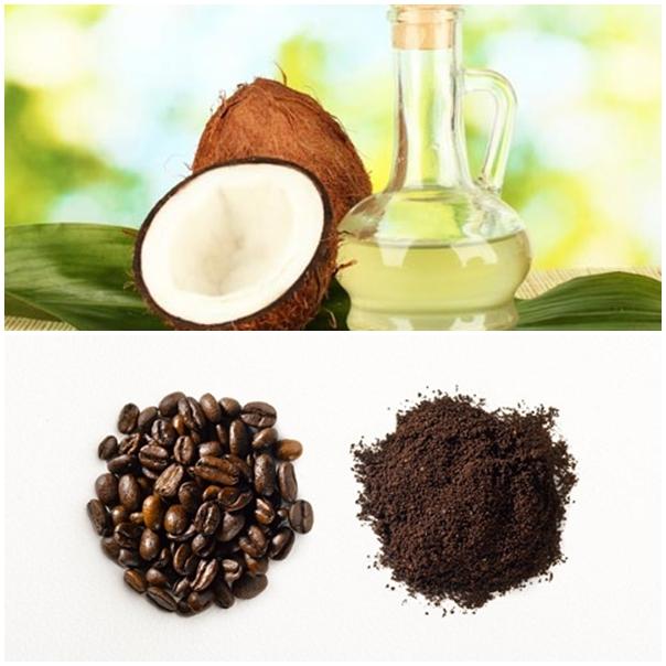 Cách tẩy tế bào chết bằng bã cà phê và dầu dừa