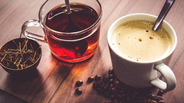 Ở trong cà phê và trà có nhiều vitamin và khoáng chất