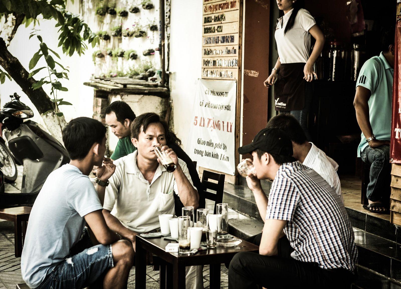 Văn hoá cà phê của người Việt thời xa xưa
